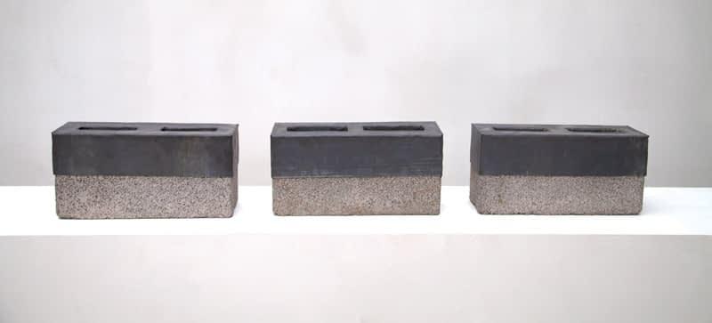 Cinder Blocks for my Father (Tríptico) , 2005