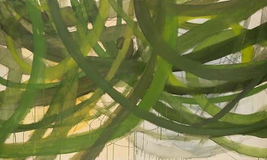 Terra Viridis 63. 2010. Oil on canvas. 120 x 200cm.
