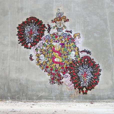 Sin Título, Textil 200 x 200 cm, 2019