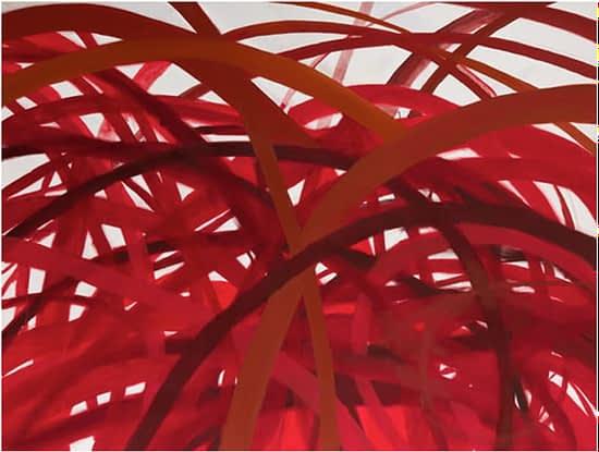 Terra Viridis 63. 2010. Óleo sobre tela. 120 x 200cm.