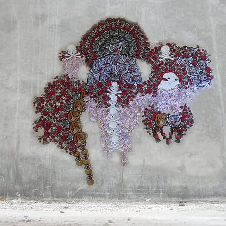 Sin Título, Textil 200 x 170 cm, 2019